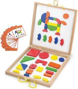 tangram, blokjes, geometrisch spel