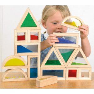 bouwen blokken