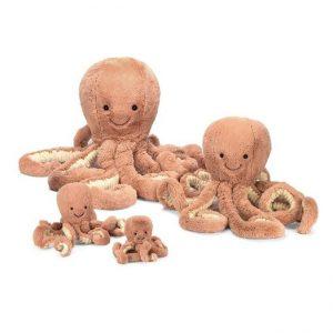 Jellycat Octopus, klein, medium, xl