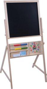 spelen met schoolbord